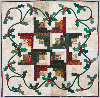 Pattern: Christmas Wreath Wall Hanging - McCall's Quilting